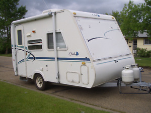 Looking to buy a camper trailer.
