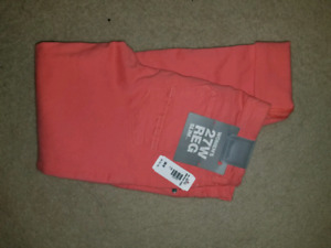Brand New Coral Be ch Crop Jeans