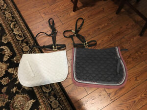 Saddle Pads and Halters