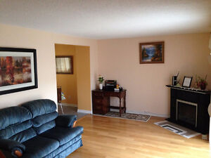 Furnished clean room for rent in west Edmonton home