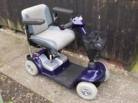 mobility scooter strider 0/4 mph fits in car boot vgc