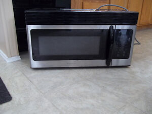 over the stove microwave for sale