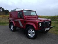 1997 Land Rover Defender 90 County Hard Top 300 Tdi *Rioja Red*