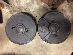 Wheel weights lawn tractor