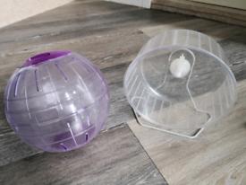 Small animal ball and wheel