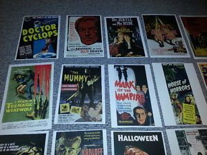 HORROR MOVIE POSTERS just in time for Halloween