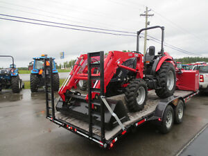 2017 TYM 554 Tractor Package Deal