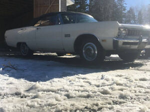 1969 Sport Fury Convertible project
