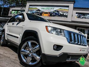11 Jeep GrandCherokee Overland+Leather+Roof+HEMI+4X4! $179/Pmts!