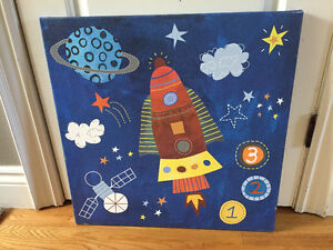 Pictures for nursery - Outer space theme Peterborough Peterborough Area image 1