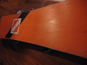 Planche de snowboard ROSSIGNOL, 140cm avec fixations, A-1 Saint-Hyacinthe Québec image 3