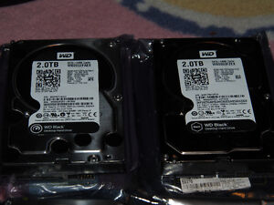 FS: High performance HDDs 4x2 TB Western Digital Black