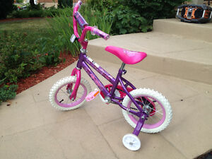 "Girls 12"" Huffy Bike"