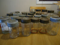 Canning Jars (sets of 10)