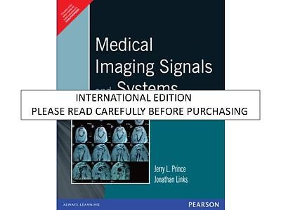 Medical Imaging Signals And Systems By Jerry L  Prince   Jonathan Link