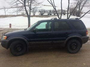 2004 Ford Escape XLT Duratec SUV - $6000 OBO - Safetied