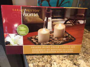 NEW in BOX - Sarah Peyton Home Deluxe Candle Set