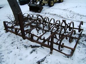 3 SECTION LEVER HARROWS