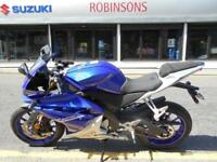 New Yamaha YZF-R125 choice of colours. 650 saving on this bike