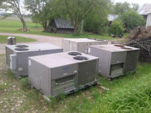 Commercial roof top air conditioners