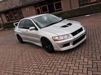 2003 Mitsubishi Lancer evo VII RSII 7 spent over £13000 loads of extras show car