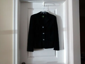 Women's Danier Black Suede/Leather Jacket- Size Small - Like New