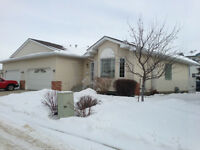Millwoods duplex in gated seniors complex, age 55 and older.