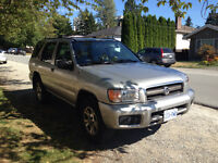 Price Reduced! Selling 2002 Nissan Pathfinder SUV!