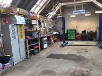 Garage/workshop to rent