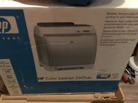 HP colour laserjet 2605dn printer