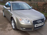 2005 05 Plate Audi A4 2.0 SE In Bronze , Only 70,000 Miles , Good Value