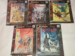 I.C.E. Book rolemaster the standard system