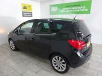 BLACK VAUXHALL MERIVA 1.4 SE ***FROM £131 PER MONTH***