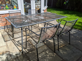 Garden table and chairs FREE