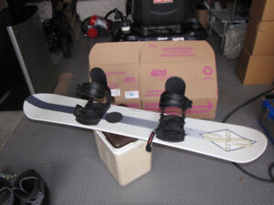 Snow Board and Boots by Gen-X 0001 Brand S