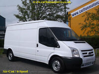 2012/ 12 Ford Transit 100 T300L Medium roof [ Air Con+Sat Nav ] panel van