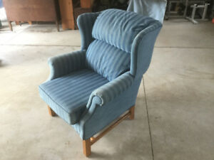 Antique chair, wing back, not recliner, chair,  couch