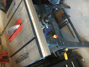 """10"""" Tablesaw w/ Extension Wings"""