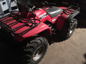 Fourtrax 300 traction