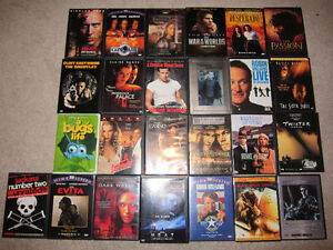 DVD Movies $6 for 4 / All for $30
