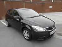(10) 2010 Kia ceed 1.6 AUTOMATIC 1 Black