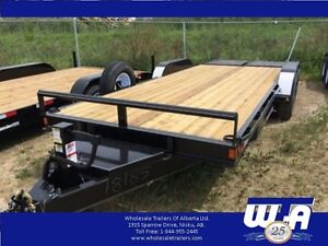 2016 Charger  7x20' Equipment Trailer w/Monster Ramps