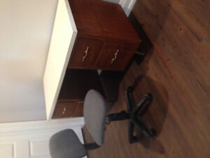 Student desk and chair for sale