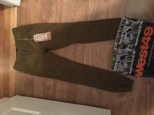 1 pair boys siZe 10-12 West 49 jogger  casual pants brand new!