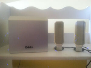 Dell Speakers and Subwoofer