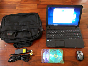 Like new Toshiba C850 laptop