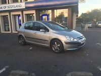 Peugeot 307 LX 1.4 petrol VERY CLEAN CAR