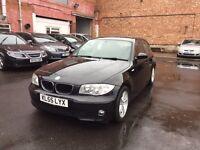 BMW 1 SERIES 1.6 116i SPORT 5 DOOR BLACK