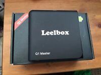 Leelbox Kodi android box brand new