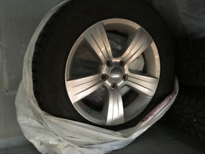 17inch WINTER TIRES AND RIMS